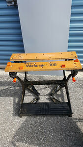 work bench black and decker 300 model