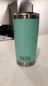 YETI MUG FOR SALE. Out of package but never used.