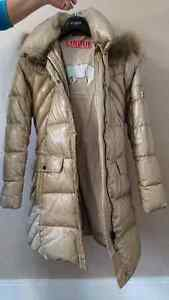 New winter jacket with real down