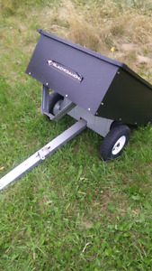 Dump Cart for ATV or Lawn Tractor