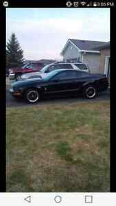 2007 Ford Mustang Black Coupe (2 door)