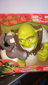 Shrek 2 Talking Cookie Jar