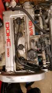Running mitsubishi 4g63 turbo motor and manual tranny