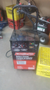 Moto master  battery charger mint condition  $110 obo