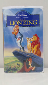 The Lion King VHS for sale