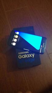 SAMSUNG GALAXY S7 EDGE (BLACK)- 32GB {UNLOCKED}