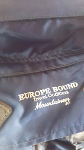 Europe bound mountaineer backpack