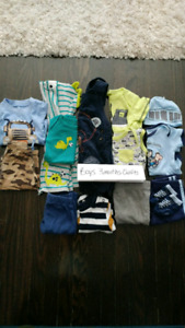 Baby boys 0-3 months outfits