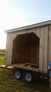 HORSE SHELTERS / WOOD SHED