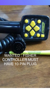 WANTED: FISHER PLOW 10 pin controller