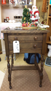 MARKED DOWN - Vintage 2-Drawer Table