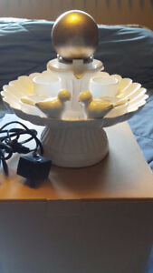 Lovebirds Fountain by Partylite - Brand New in Box!!