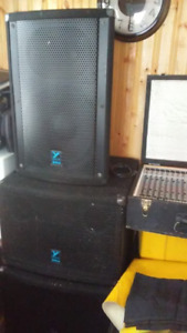 Tops, Bass Bins and Board - FOR SALE