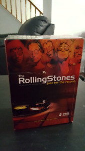 Rolling Stones.   Just for the record dvds
