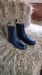 Leather Paddock boots - ladies size 6