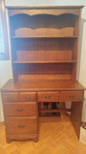 2 Dressers(with shelves and mirror) and Nightstand