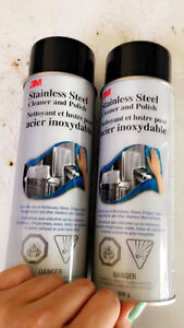 3M Stainless Steel Cleaner and Polish Aerosol