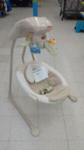 (234) Fisher Price Baby Swing $59