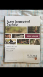 1E03 - Business Environment and Organization