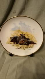 David Sheperd Limited Edition Wildlife Plate