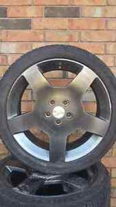 Cobalt ss rims and tires Windsor Region Ontario image 3