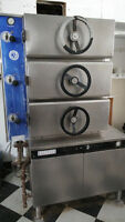 Steam cooking equipment,  Garlan