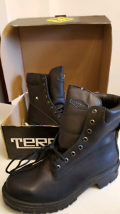 Terra steel toe construction boots