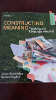 Constructing Meaning 5th Edition