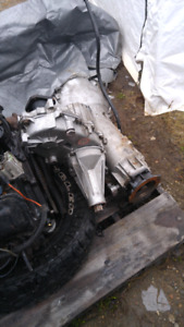 6-2 diesel turbo 400 transmission and transfer case