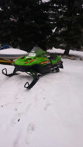 $2500 or trade sled plus $3000 for car/truck