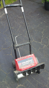 Electric Snow Thrower - Murray Snowthrower 1500