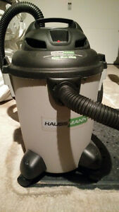 HAUSSMANN QUIET HIGH PERFORMANCE WET/DRY VACUUM 5 gallons