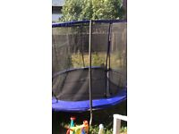 10ft trampoline excellent condition 11 month old