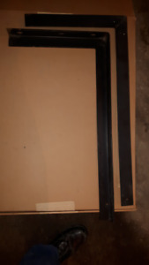 "CENTRAL Air Conditioner MOUNTING L Bracket 30"" x 16"""