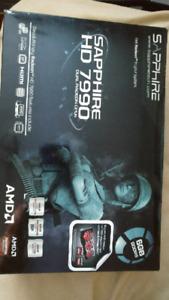 2x AMD Radeon HD 7990 Dual GPU
