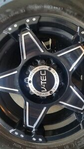 4 NEW VTEC WIZARDS WITH MICHELIN LTX AT2 LT275/70/18