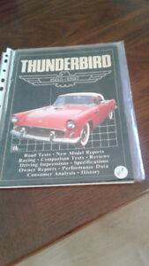 1955-1957 THUNDERBIRD BOOK