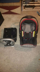 Car seat with base.
