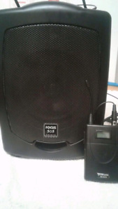 Focus 505 Portable PA system