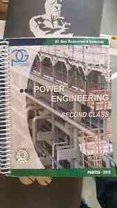 2nd or 3rd class power engineering books