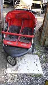 Jogger / stroller twin size ..three wheel.. $60