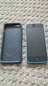 iPhone 5c, Blue 8gb, excellent condition