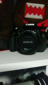 Selling Canon t3i + canon 50mm f/1.8