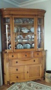 One of a Kind Corner Cabinet