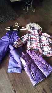 Girls winter jackets and snowsuit