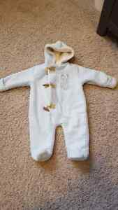Boys 3-6 month snow suit.