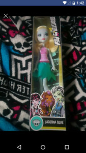 Bnib lagoona blue monster high doll $10 firm