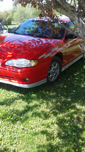 2000 Chevrolet Monte Carlo SS Pace Car Coupe (2 door)