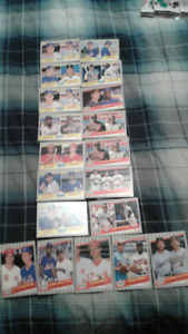 1989  fleer 19 cards super star specials cards look at the cards