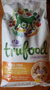 Selling 1 bag of Wellness TruFood Dog Food